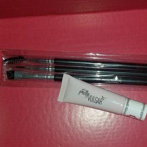 Eyeliner Brush Set & Eye Shadow Primer Bundle